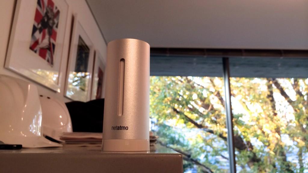 「Netatmo ウェザーステーション」の屋内用追加モジュール、登場です!