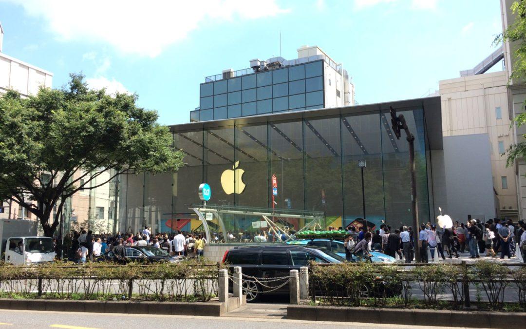 Apple Store 表参道が本日グランドオープン!