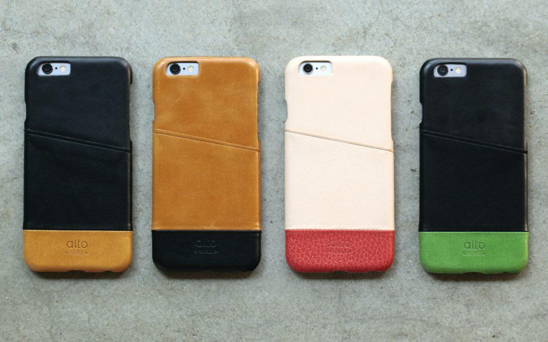 「alto Metro for iPhone 6」のご紹介とaltoの革製品へのコダワリ
