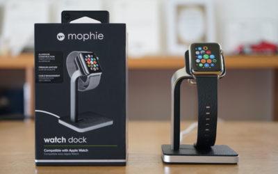 本日発売のApple Watchを「mophie watch dock」で充電してみた!