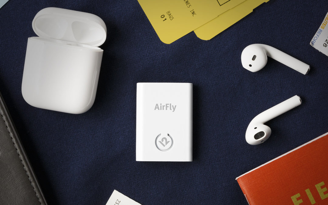 Bluetooth未対応のデバイスでもAirPodsが使えるトランスミッター AirFly が登場!