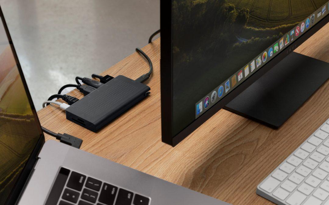 米国Twelve South社からMacBookに必要なポートやスロットを備え、ワークスペースの整頓に便利なUSBハブ「StayGo USB-C Hub」登場!