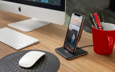 米国Twelve South社から1台で3役をこなす、Qiワイヤレス対応機種の充電スタンド「HiRise Wireless」登場!