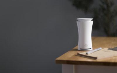 水や食事と同じように「空気」にも気を配ろう。世界初、9個のセンサーを搭載した室内用空気品質監視モニター「uHoo」