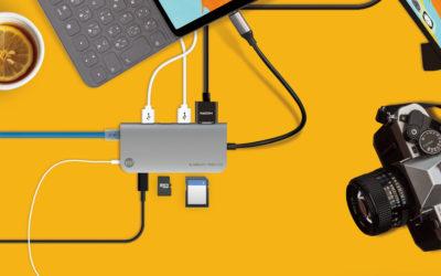 オーディオポートを含む7種類のインターフェイスに拡張可能なロングケーブルUSB-Cハブ 「TUNEWEAR ALMIGHTY DOCK C3」登場