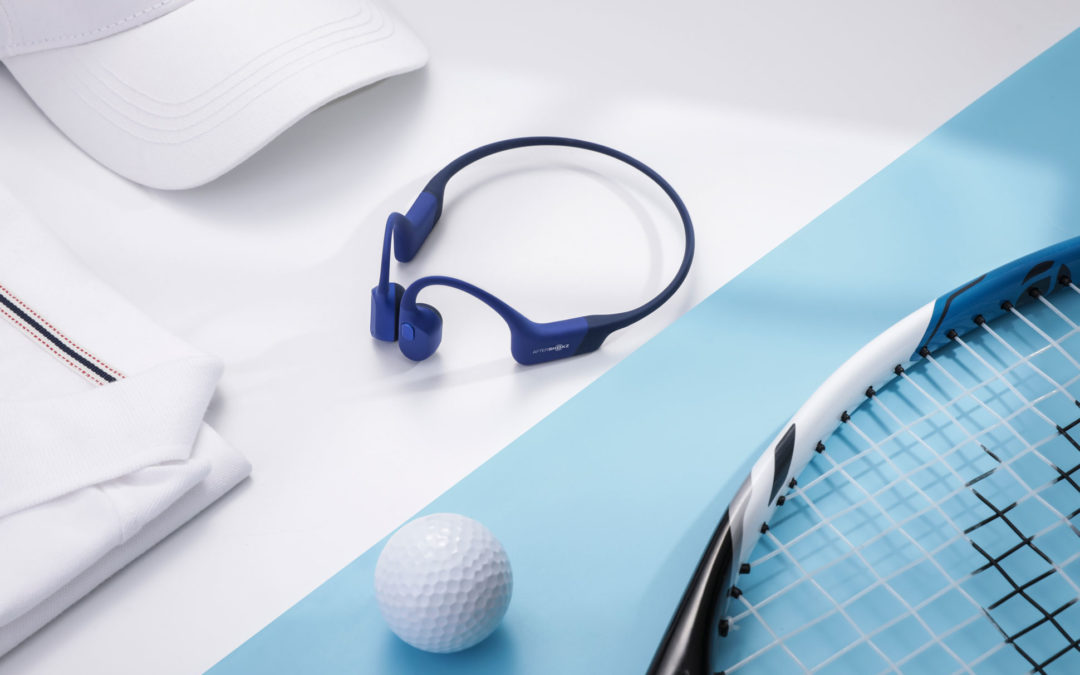 AfterShokzの骨伝導ヘッドホン「Aeropex」に新色のブルーエクリプス登場。9月28日より販売開始!