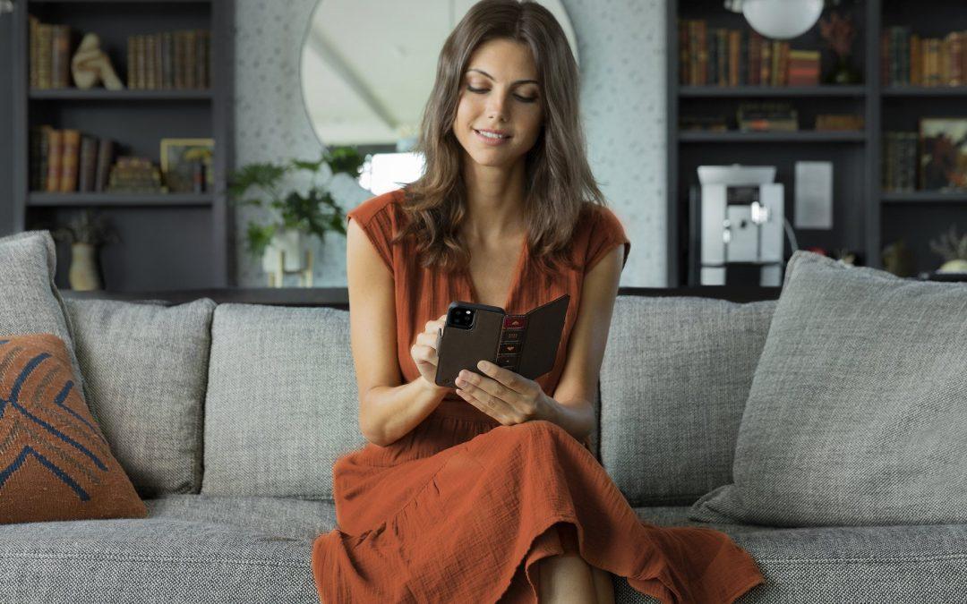 米国Twelve South社から洋書のようなアンティーク調で本革のブック型iPhoneケース「BookBook vol.2 for iPhone 11」を販売開始!