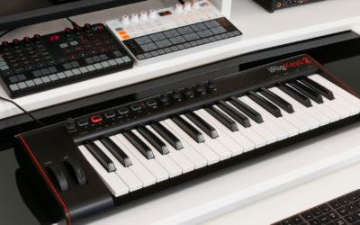 IK Multimediaの次世代型MIDIキーボード「iRig Keys 2 Pro」、「iRig Keys 2」を国内代理店フォーカルポイントが発売!