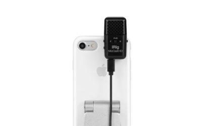 高音質な動画・音声をプロ・クオリティで収録できるマイク「iRig Mic Cast HD」登場