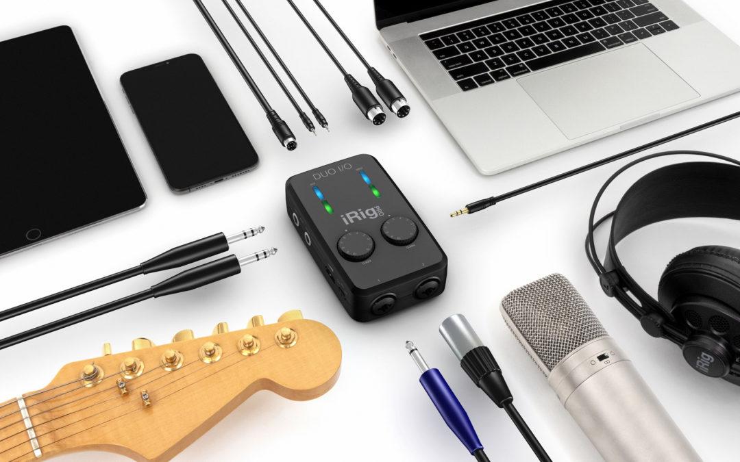 さあ、プロ仕様のスタジオを持ち運ぼう!IK Multimedia「iRig Pro Duo I/O」