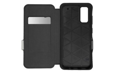 「TUNEWEAR ANTI-SHOCK HYBRID CARD FOLIO for Galaxy S20 5G」をau公式アクセサリ「au +1 collection SELECT」より発売