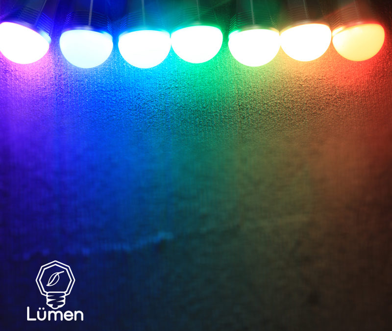 iPhoneで自由自在に色を変えられるBluetooth搭載LED電球「Tabu Lumen」好評発売中!