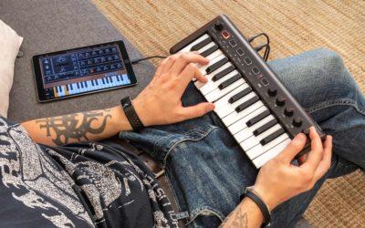 次世代型モバイルMIDIキーボード「iRig Keys 2 Mini」取扱開始