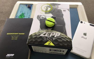 営業担当が「Zepp ゴルフ 2 スイングセンサー」を試してみた。その1
