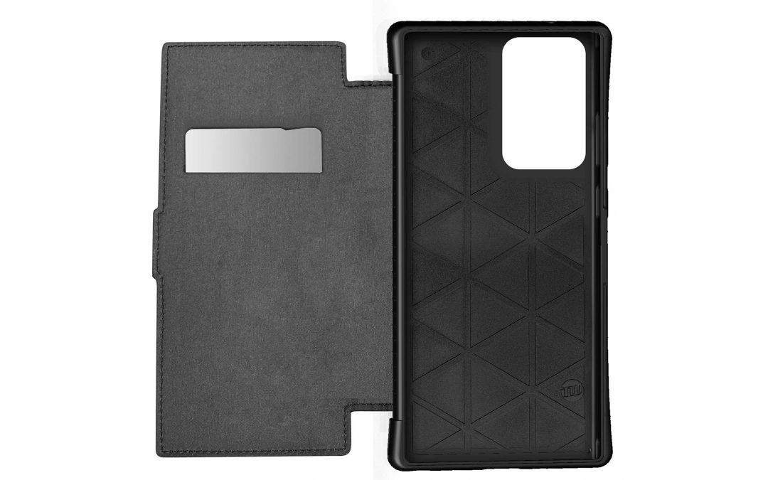 Galaxy Note20 Ultra 5G用耐衝撃ケース「TUNEWEAR ANTI-SHOCK HYBRID CARD FOLIO」がau +1 collection SELECTで登場!