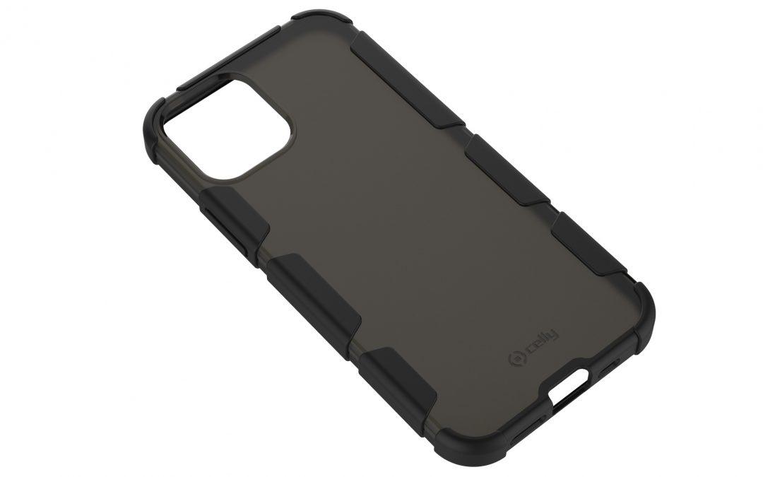 iPhone 12用「EXTREME DEFENSE 耐衝撃ハイブリッドカバー/クリアブラック」がau +1 collection SELECTに登場!