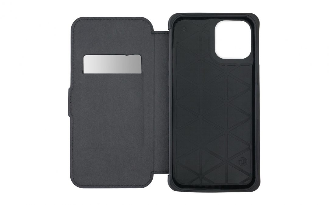 iPhone 12用耐衝撃ケース「TUNEWEAR ANTI-SHOCK HYBRID CARD FOLIO」がau +1 collection SELECTで登場!