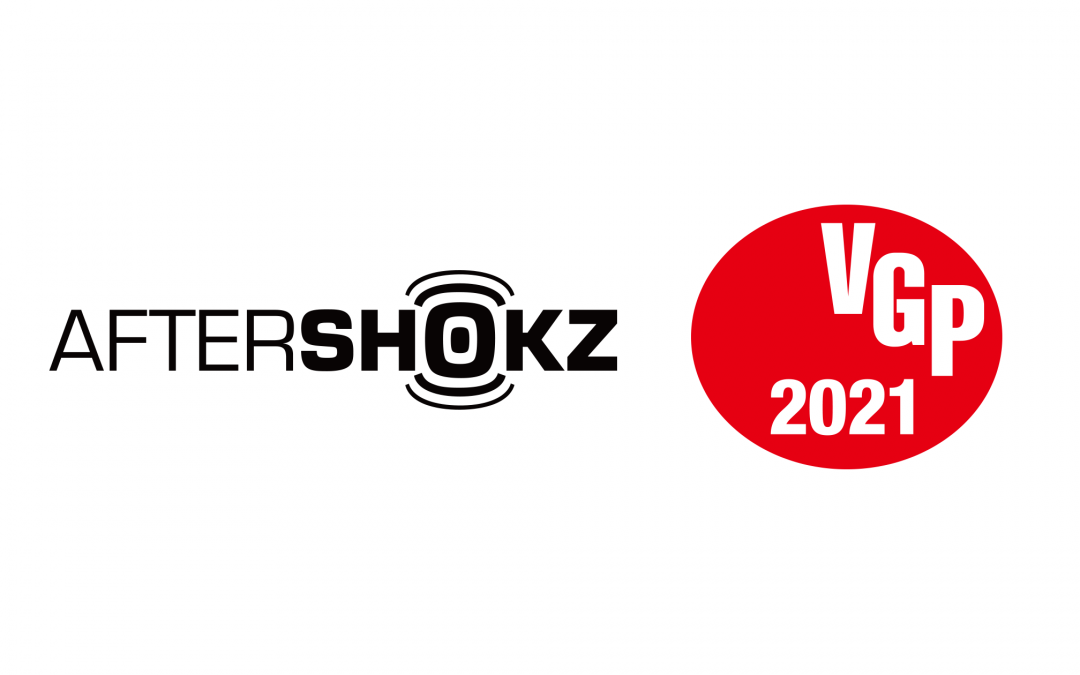 「AfterShokz 骨伝導ワイヤレスヘッドホン テレビ用」AFT-EP-000021がオーディオ&ビジュアルアワード「VGP 2021」にてコンセプト大賞、金賞をダブル受賞!