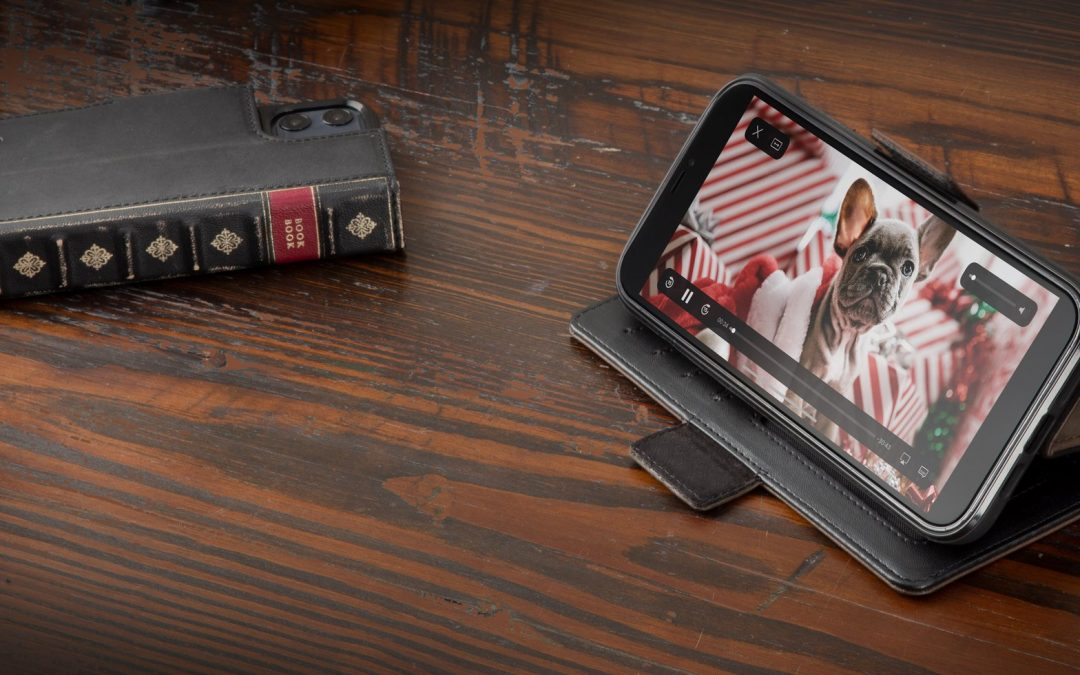 米国Twelve South社の人気アンティーク調本革iPhoneケース「BookBook vol.2 for iPhone 12」をフォーカルポイントが取扱開始。