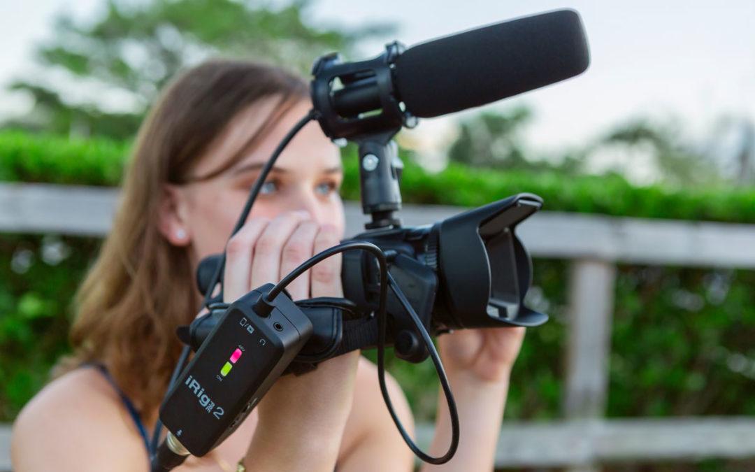 IK Multimedia社からスマホやカメラでXLRマイクを使用できるマイクプリアンプ搭載モバイルオーディオインターフェイス「iRig Pre 2」登場。