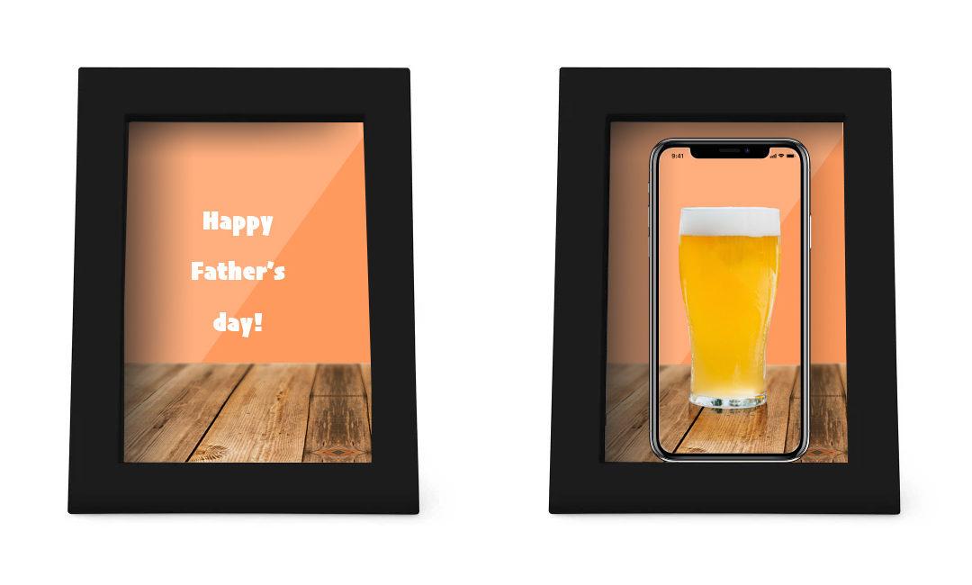 フォーカルポイント・ダイレクトの父の日セール! Father's Day スペシャルキャンペーンでおしゃれなフォトフレーム型充電器 45%OFF