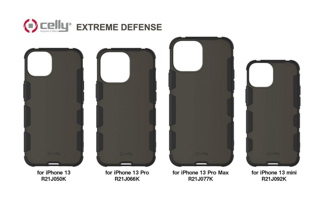iPhone 13シリーズ用「EXTREME DEFENSE 耐衝撃ハイブリッドカバー/クリアブラック」がau +1 collection SELECTに登場!