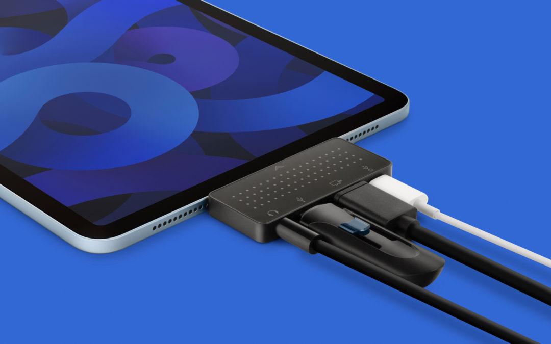 Twelve South StayGo Mini登場。Type Cポートを持つタブレット、iPad Pro、MacBook、ノートパソコンに最適な超薄型 USB-C ハブ。